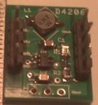 MCP1640 Voltage boost module